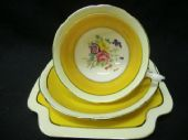 Grafton china 'Hampton' tea trio